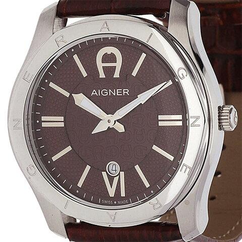 AIGNER アイグナー クォーツ 腕時計 ドイツブランド ファッション [A42117A ] 並行輸入品 純正ケース メーカー保証