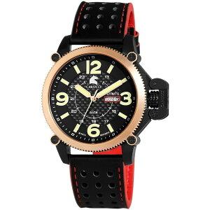 Carucciカルッチ自動巻き腕時計メンズ[CA2191RG]並行輸入品メーカー国際保証24ヵ月純正ケース付き