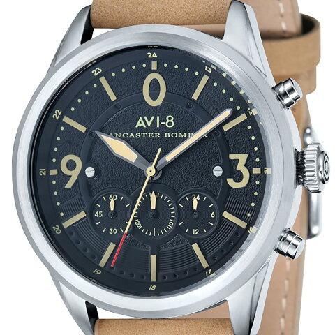 AVI-8 アヴィエイト 電池式クォーツ 腕時計 [AV-4024-02] 並行輸入品 純正ケース メーカー保証 24ヶ月 取扱説明書(日本語表記なし)