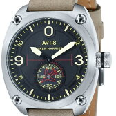 AVI-8 アヴィエイト アビエイト クォーツ 腕時計 メンズ ファッション ミリタリー [AV-4026-03] 並行輸入品 純正ケース メーカー保証24ヶ月