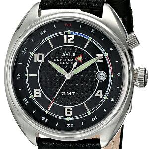 AVI-8アヴィエイトアビエイトクォーツ腕時計メンズファッションミリタリー[AV-4030-02]並行輸入品純正ケースメーカー保証24ヶ月