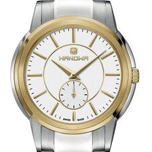 HANOWAハノワクォーツ腕時計スイスシンプルファッション[16-5038.04.007]並行輸入品純正ケースメーカー保証