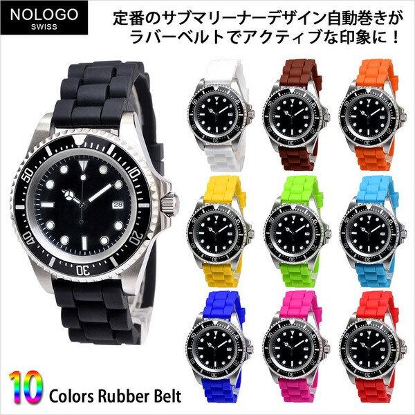 腕時計, メンズ腕時計 NOLOGO NL-012SB3AR 24