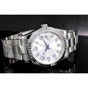 NOLOGOノーロゴ自動巻き腕時計メンズ[NL-036SW3AS]並行輸入品メーカー保証24ヶ月