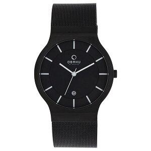 OBAKUオバッククォーツ腕時計デンマークシンプル薄型ファッション[V133GDBBMB]並行輸入品純正ケースメーカー保証
