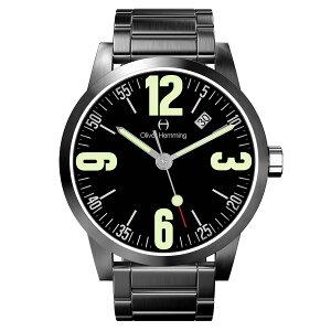 OliverHemmingオリバー・ヘミングクォーツ腕時計イギリスアートデザイン[WT17SB66BCDSB]並行輸入品純正ケースメーカー保証