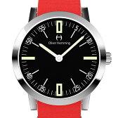 Oliver Hemming オリバーヘミング クォーツ 腕時計 イギリス アート デザイン [WT18S45BRNC] 並行輸入品 純正ケース メーカー保証