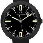 Oliver Hemming オリバーヘミング クォーツ 腕時計 イギリス アート デザイン [WT35B45BBL] 並行輸入品 純正ケース メーカー保証