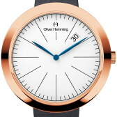 Oliver Hemming オリバーヘミング クォーツ 腕時計 イギリス アート デザイン [WT35R76WGS] 並行輸入品 純正ケース メーカー保証