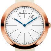 Oliver Hemming オリバーヘミング クォーツ 腕時計 イギリス アート デザイン [WT35R76WIS] 並行輸入品 純正ケース メーカー保証【新生活応援】
