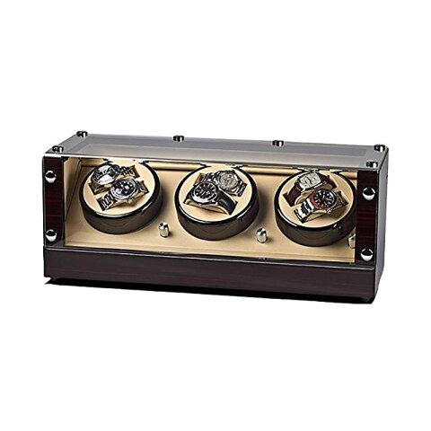 ウォッチワインダー ワインディングマシーン ROTHENSCHILD/ローテンシルト 収納本数:6本 [ RS-2300-MCS ] 並行輸入品