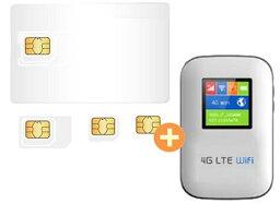 売切りWiFi 4.5GB/3日 60+1日間 データ通信専用 + 端末セット NTTドコモ回線(docomo 回線)LTE【送料無料】