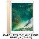 Apple iPad Pro 12.9インチ Wi-Fi 256GB MP6J2J/A [ゴールド]アップル タブレット PC 単体 新品