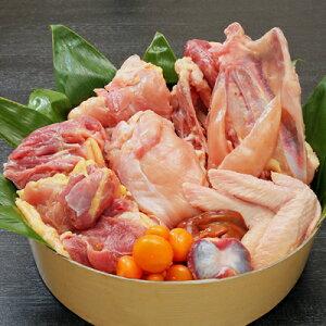 比内地鶏まるごとセット【比内地鶏1羽分 (むね肉1枚・もも肉1枚)×2P/手羽先/手羽元/ささみ/もつ/ガラ】製造元直送/冷凍着日指定は7日後以降でお願いします。