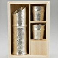 能作錫製酒器竹型酒器セット