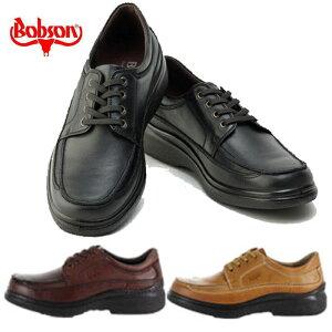 ボブソン BOBSON 5207 靴 本革 メンズ 疲れない カジュアルシューズ ウォーキングシューズ 軽量 3E ブラック ダークブラウン キャメル 旅行 父の日 プレゼント ギフト