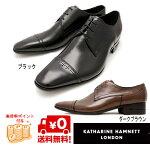 KATHARINEHAMNETTキャサリンハムネット31551ブラックダークブラウンブラウン靴