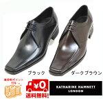 KATHARINEHAMNETTキャサリンハムネット3948ブラック黒靴【KH3948-BK】