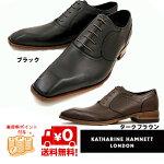KATHARINEHAMNETTキャサリンハムネット31492ブラックダークブラウン靴