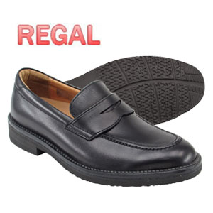 リーガル REGAL 靴 ウォーカー メンズ ローファー ビジネスシューズ 146W ブラック 本革 日本製 通勤 出張 就職祝 父の日 誕生日 ギフト プレゼント