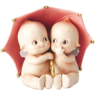 Works by rose O'Neill kewpie man-shaped kewpie / girls / rainy day Rose O ' Neill Kewpie