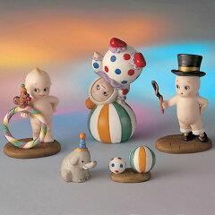 ローズオニールキューピー人形 ジオラマフィギュアセット「キューピーとサーカスの巻」 Rose …