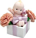 ローズオニールキューピー人形フラワーキューピー5月の花「カーネーション」(母の日)RoseO'NeillKewpie