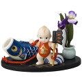 ローズオニールキューピー人形キューピー歳時記フィギュアセット5月「金太郎/五月人形」鯉のぼりRoseO'NeillKewpie
