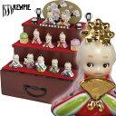 ローズオニール キューピー ビスクドール 3段かざりひな人形/雛人形【ローズオニールキューピー...