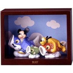 ディズニー ミッキー&フレンズ マンスリーフィギュア5月「子供の日」鯉のぼり/五月人形 ※パッケージ箱に凹みがございます。