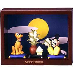 ディズニー ミッキーマウス マンスリーフィギュア9月「お月見」十五夜 月見団子ミッキーマウス...