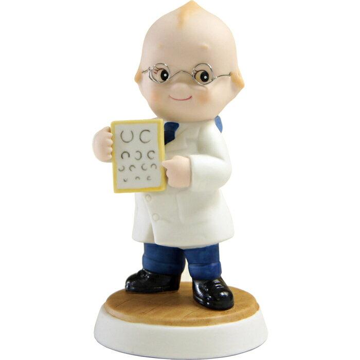 產品詳細資料,日本Yahoo代標|日本代購|日本批發-ibuy99|ローズオニールキューピー人形 キューピーフィギュア「眼科医」 Rose O'Neill Kewpie