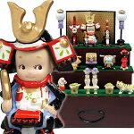 五月人形ローズオニールキューピー人形キューピー五月人形・三段飾り【送料無料】
