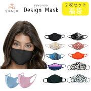 福袋デザインマスク洗える2枚セット大人用MasqinishashiマスクセットfacemaskマスクECO感染予防かわいいフェイスマスクおしゃれ繰り返し使える