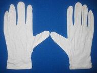 #送料無料#スムス手袋綿100%綿の白手袋両手1組