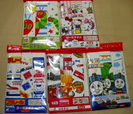※送料無料※3枚組キャラクターハンカチ表ガーゼ裏タオルの子供用ミニハンカチ20×20cmもちろん、綿100%です。楽天ポイント利用、大歓迎です。