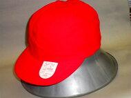 【送料無料】つば付き紅白帽子丈夫な生地。小学校で使います。M・L
