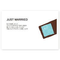 【私製はがき10枚】結婚報告・お知らせはがきWMS-13