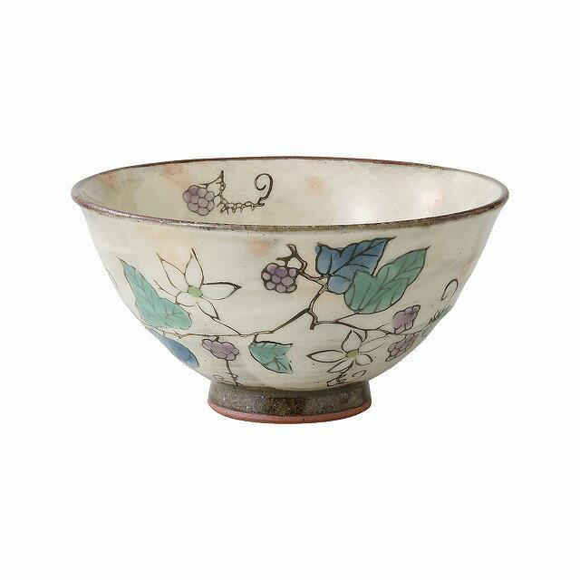 食器, 鉢  Kusabana wild strawberry small bowl for cooked rice Purple large Hasami ware Japanese ceramic.