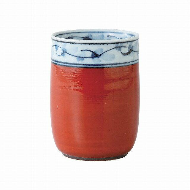 マグカップ・ティーカップ, マグカップ  Kikuchimon teacup Red small Hasami ware Japanese ceramic.