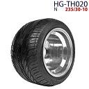 四輪バギー ATV ホイール付タイヤ 10インチ 235/30-10 HG-TH020 ハイガー産業...