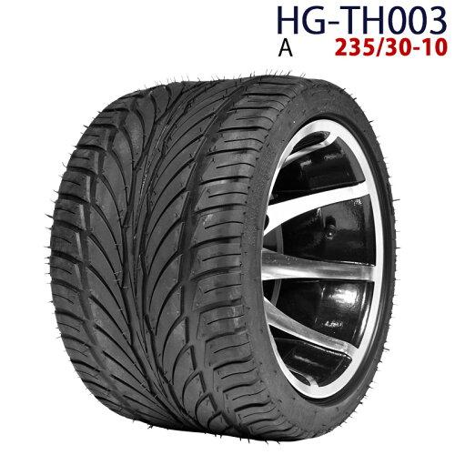 四輪バギー ATV ホイール付タイヤ 10インチ 235/30-10 HG-TH003 ハイガ...