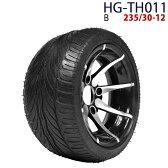 四輪バギー ATV ホイール付タイヤ 12インチ 235/30-12 HG-TH011 ハイガー産業 B 0113_flash 16