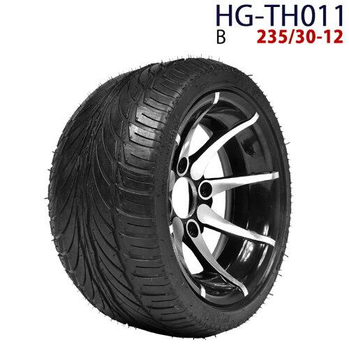 四輪バギー ATV ホイール付タイヤ 12インチ 235/30-12 HG-TH011 ハイガ...