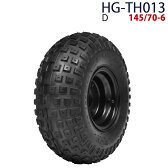 四輪バギー ATV ホイール付タイヤ 6インチ 145/70-6 HG-TH013 ハイガー産業 D 0113_flash 16