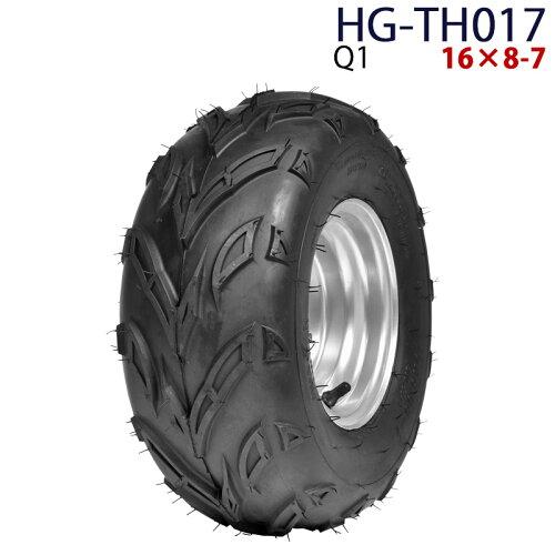 四輪バギー ATV ホイール付タイヤ 7インチ PCD110mm 16×8-7 HG-TH017 ハイガー産業 Q1 0113_flash...