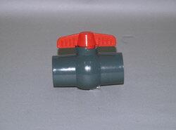報商製作所:農業用 PVCボールバルブ ソケット式 型式:PVC25 ソケット式