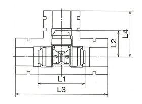 オンダ製作所:ダブルロックジョイントP保温材セット(異径)樹脂製<WPTS1>型式:WPTS1A-201320-S(1セット:10個入)