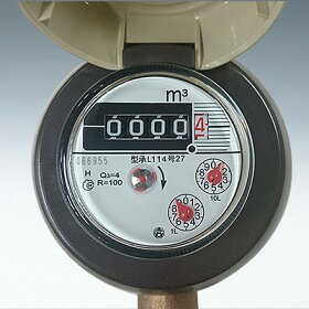 愛知時計電機:小型水道メーター小口径<SD>:SD-13(ガス管金具付)