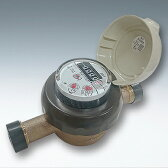 愛知時計電機:小型水道メーター 小口径 SD-25 (ガス管金具付)